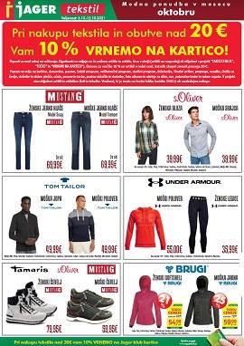 Jager katalog tekstil do 12.10.