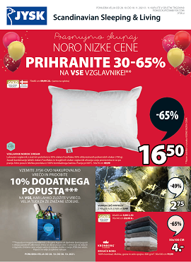 JYSK katalog do 10.11.