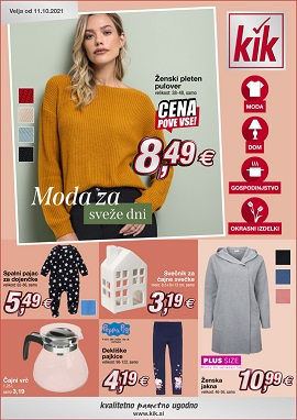 KiK katalog Moda za sveže dni
